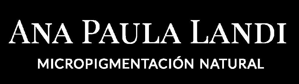 Logo Ana Paula Landi micropigmentación Barcelona