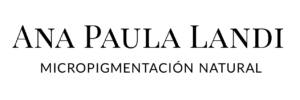 Logo negro Ana Paula Landi micropigmentación Barcelona