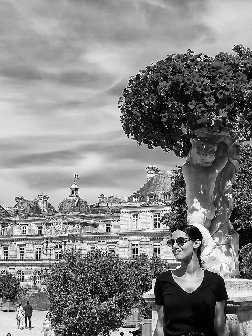 Ana Paula Landi en Paris