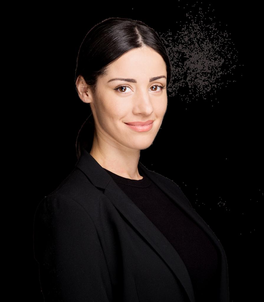 Retrato de Ana Paula Landi, especialista en micropigmentación en Barcelona